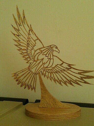 Flying eagle finished