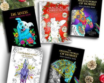 Adult Coloring Books And Pages Posters Cards By SelahWorksArt Best Selling