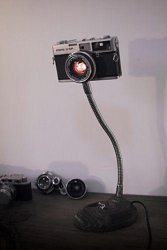 Lo más COOL en lámparas de escritorio. Me lo he pensado mejor, yo quiero una!
