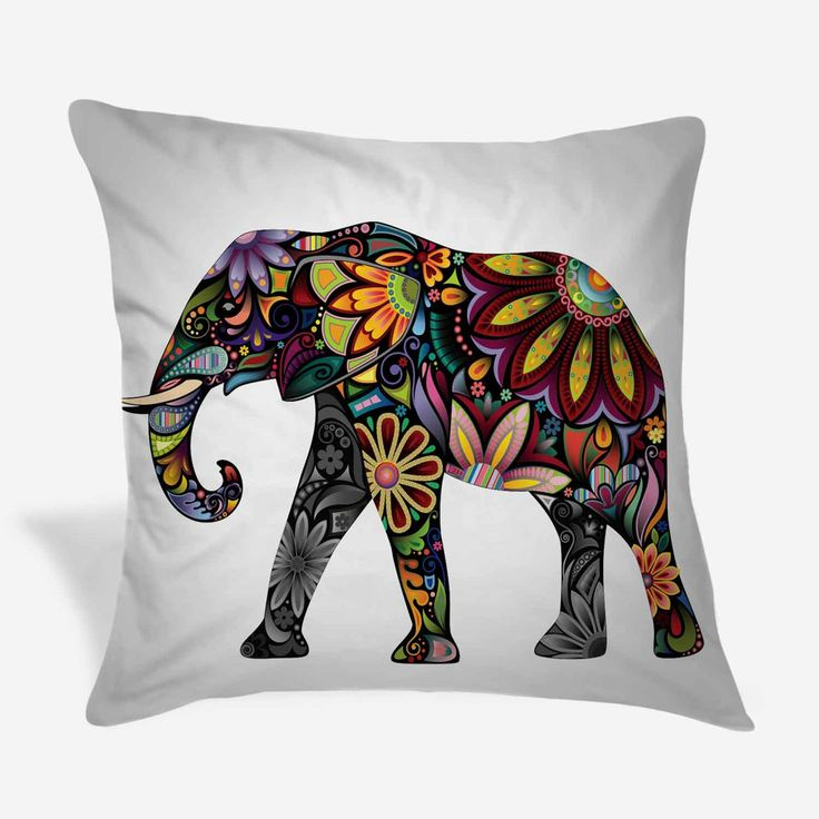 Elephant Throw Pillow Case : 57 best images about Elephants for Sarah on Pinterest Elephant baby, Burlap throw pillows and ...