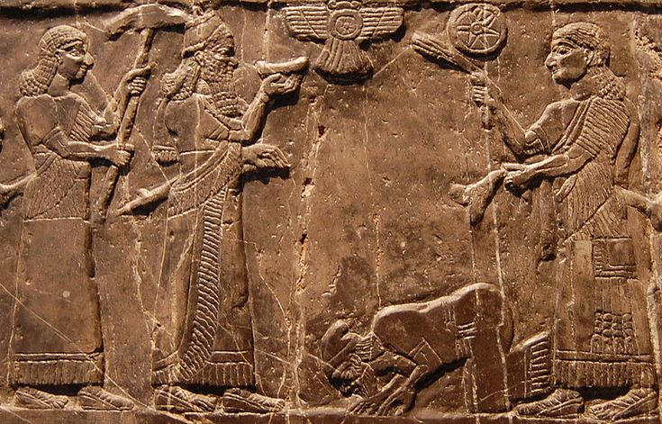 Jehu, king of Israel, bows before Shalmaneser III of Assyria, 825 BC  http://en.wikipedia.org/wiki/Assyria