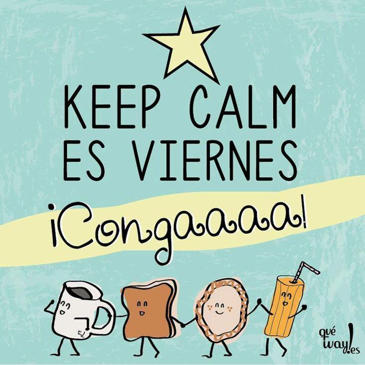 Keep calm, es viernes... ¡Conga!  Psicomold Psicólogos• Pioneros en Inteligencia Emocional  ·TERAPIA Y ENTRENAMIENTO PSICOLÓGICO· www.psicomold.com Tel: 922 634 985