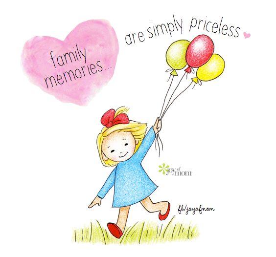 Family Memories Are Simply Priceless.