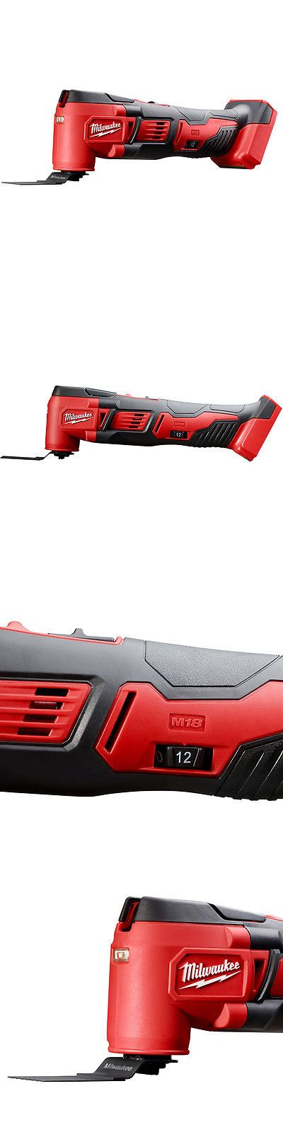 Multi-Tools 46459: Milwaukee 2626-20 M18 18-Volt Multi-Tool W Adapter -> BUY IT NOW ONLY: $119 on eBay!