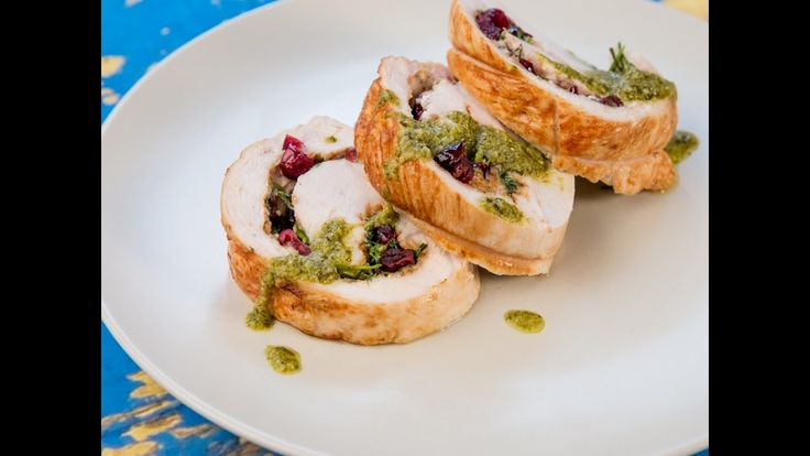 If you want to eat a healthy piece of meat but youre bored with grilling or broiling try oven-bake it! But not as it  is! Our suggestion is to roll the meat and filling it with some good stuffing. Choose a lean meat like turkey and make this sweet and sour filling with mascarpone and cranberries. A nice addition would be a fresh pesto sauce on top!  --------------------- Follow us on: Facebook: http://sodl.co/2dRsH0l Instagram: http://sodl.co/2eMvdCP  Twitter: https://twitter.com/sodlco…
