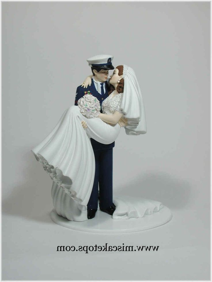 Military Wedding Cake Toppers Coast Guard