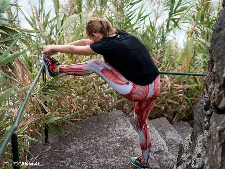 muscle skin suit leggings - sport stretching