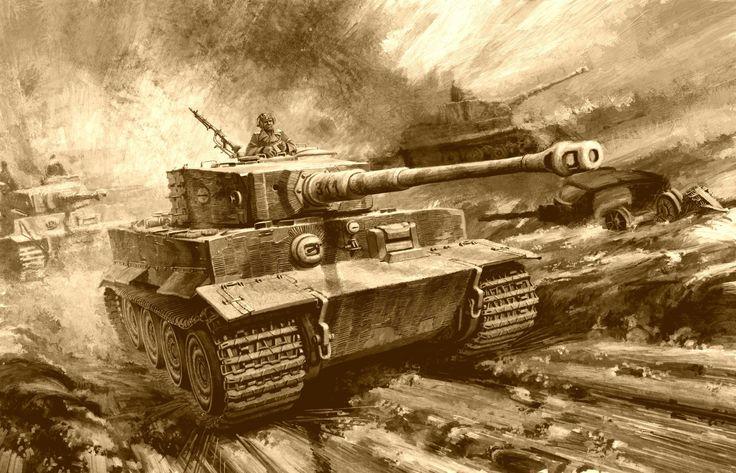 tiger tank wallpaper fullscreen hd