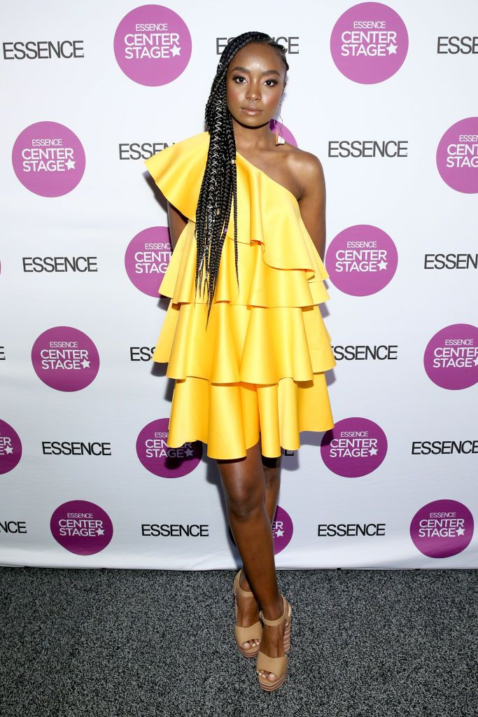 Kiki Layne Attends If Beale Street Could Talk Movie Cast And Red Carpet Looks Essence Festival Womens Fashion Inspiration