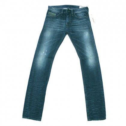 Diesel Thanaz 0880F Slim-Skinny Jeans