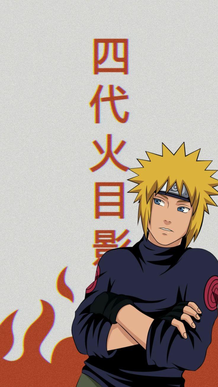 Minato Wallpaper ll Naruto mangá colorido, Personagens