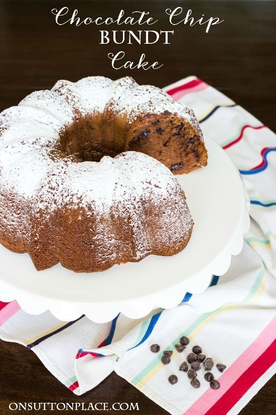 1000 images about bundt bakes on pinterest best for Easy bundt cake recipes from scratch