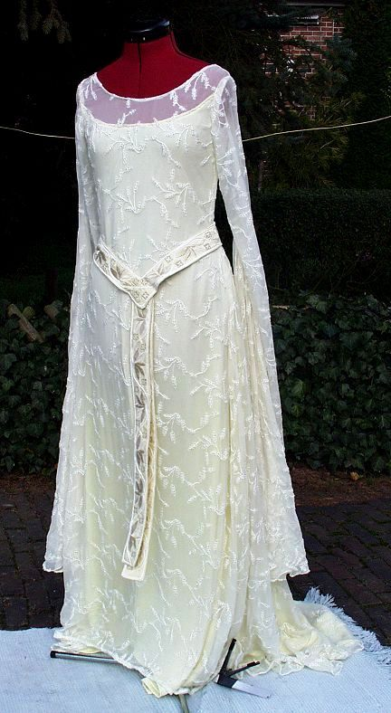 Galadriel's dress from LOTR
