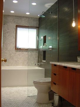 Mid-Century Modern Whole House Project midcentury bathroom