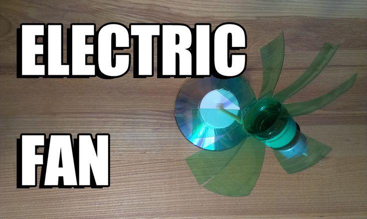 Как сделать электрический вентилятор из бутылки - электро вентилятор