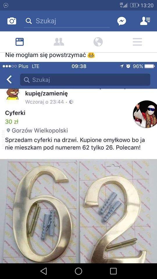 Sprzedam cyferki na drzwi #sprzedam #cyferki