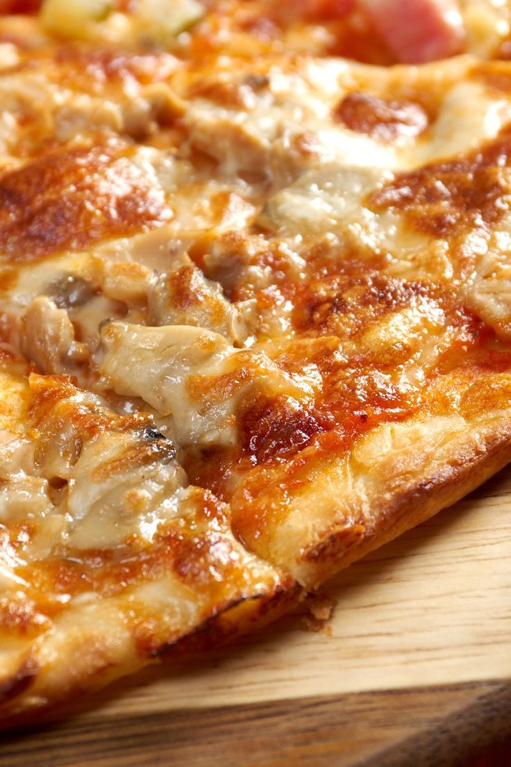 ... Foods on Pinterest | Chicken pizza recipes, Spaghetti pizza and Pizza