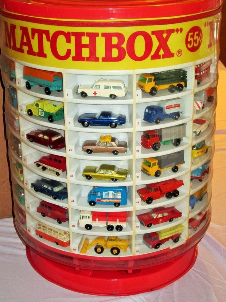 Complete 1960's Lesney Matchbox 1-75 Set DEALER DISPLAY in Orig. Shipping Box…