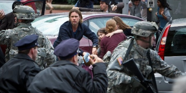 Brad Pitts World War Z $200 Million Production Nightmare Exposed In a revealing new article, the films script doctor Damon Lindelof and Paramount executives Marc Evans and Adam Goodman talk about the numerous issues plaguing the production
