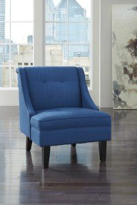 Blue Accent Chair from the Clarinda Collection