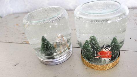 DIY snøkuler