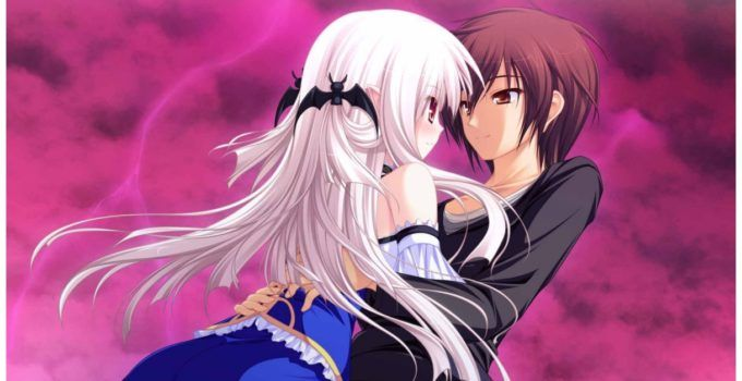 Romantic Emotional Couples Anime Full Hd Wallpapers