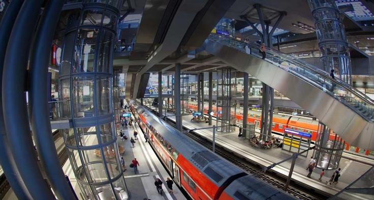 Berlin Train Station [Berlin, Germany]
