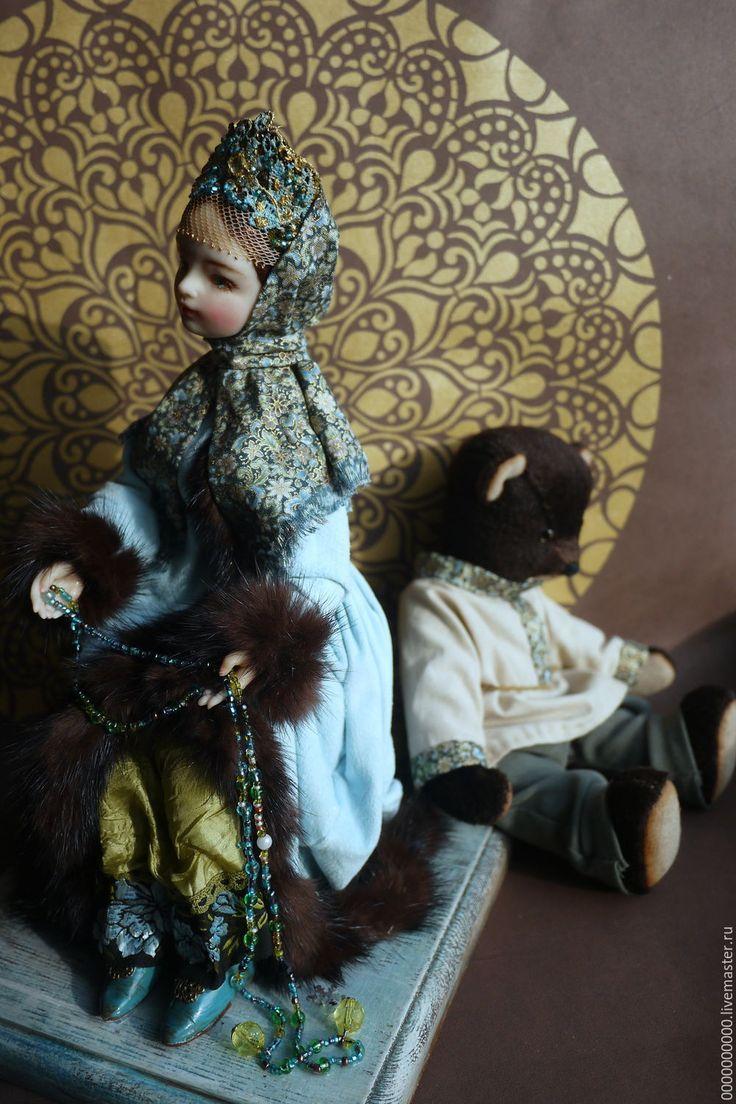 Купить медведь Потап - авторская игрушка, авторская работа, мишка тедди, мишка ручной работы