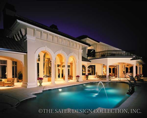 312 best Mediterranean House Plans The Sater Design Collection
