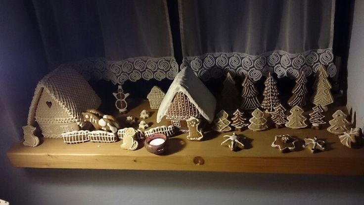 Gingerbread world...