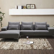 Christian Fabric Sectional