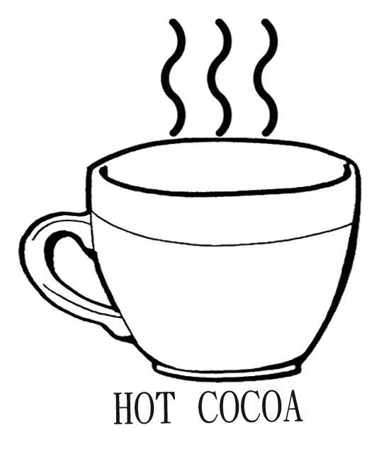 Pin By Blogger On 2020 Coloring Pages Hot Chocolate Mug Hot
