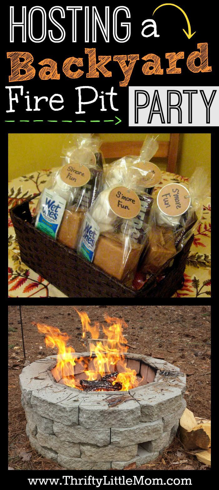 Hosting a Backyard Fire Pit Party. Want to create lasting memories with family and friends? Check out these firepit party ideas as well as firepit party food that keeps your guest from doing a balancing act with paper plates.
