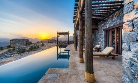 Oman: 1 or 2 Nights for Family of Four with Breakfast, Dinner, 4 x 4 Airport Transfers and Yoga at Alila Jabal Akhdar  Oman: 1 or 2 Nights in Mountain View Suite with Meals  #AccommodationType #DailyDeals #Getaways #Groupon #HappyHolidaysTourismLLC #HolidayPackages #Hotel #HotelStay #LeisureActivities #MerchandisingAE #Travel #HotelStay #TravelActivities #UAEdeals #DubaiOffers #OffersUAE #DiscountSalesUAE #DubaiDeals #Dubai #UAE #MegaDeals #MegaDealsUAE #UAEMegaDeals  Off