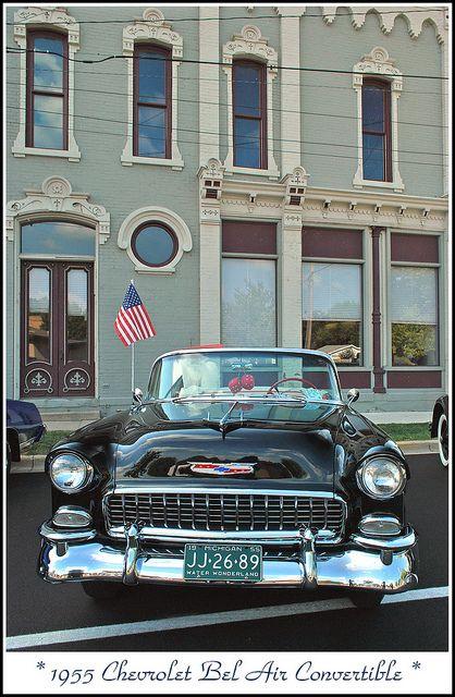 1955 Chevrolet Bel Air http://www.pinterest.com/cerrajerosval/