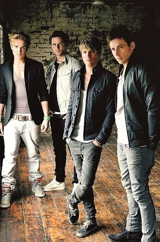 McFly: Tom Fletcher, Harry Judd, Dougie Poynter, Danny Jones