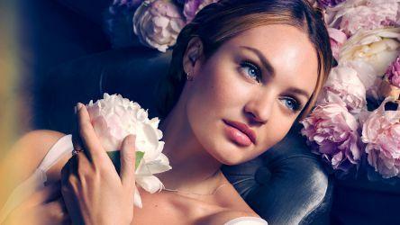 Candice Swanepoel photoshoot 2016 - Max Factor wallpaper