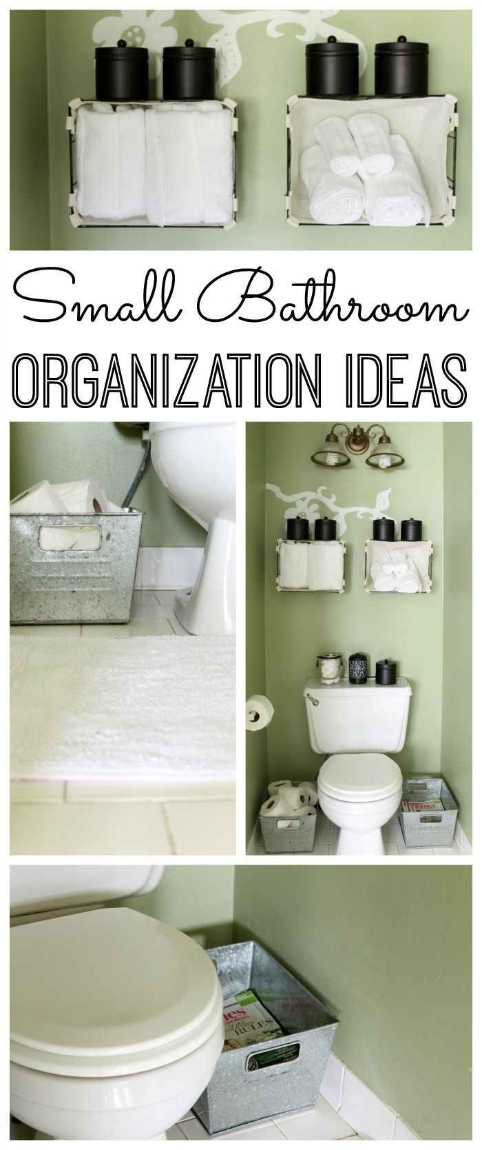 Small Bathroom Organization Ideas Organization Hacks