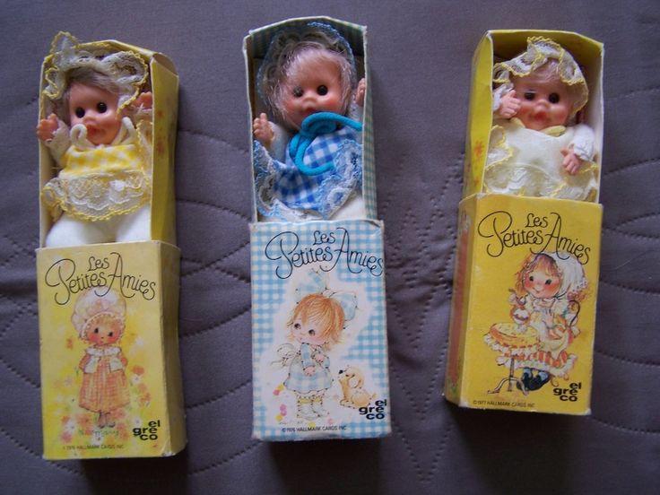 Feufollettes et Petites Amies (EL GRECO) années 70 - années 80 - J'avais oublié ces petites poupées!!!