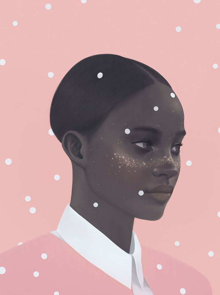 Fashion Portrait, beautiful digital illustration by Hsiao-Ron Cheng