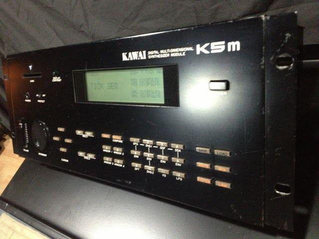 MATRIXSYNTH: Kawai K5m Additive Digital Synth