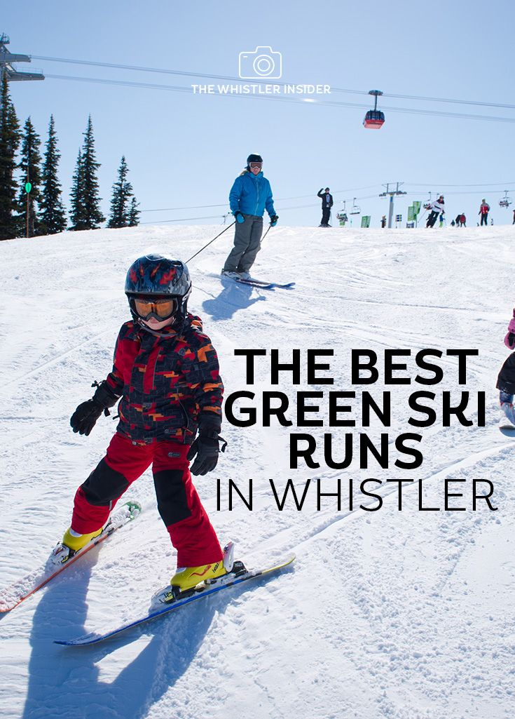 If you're skiing with family, new to the mountains or simply getting the legs back into shape for winter, there's green ski run waiting for you.