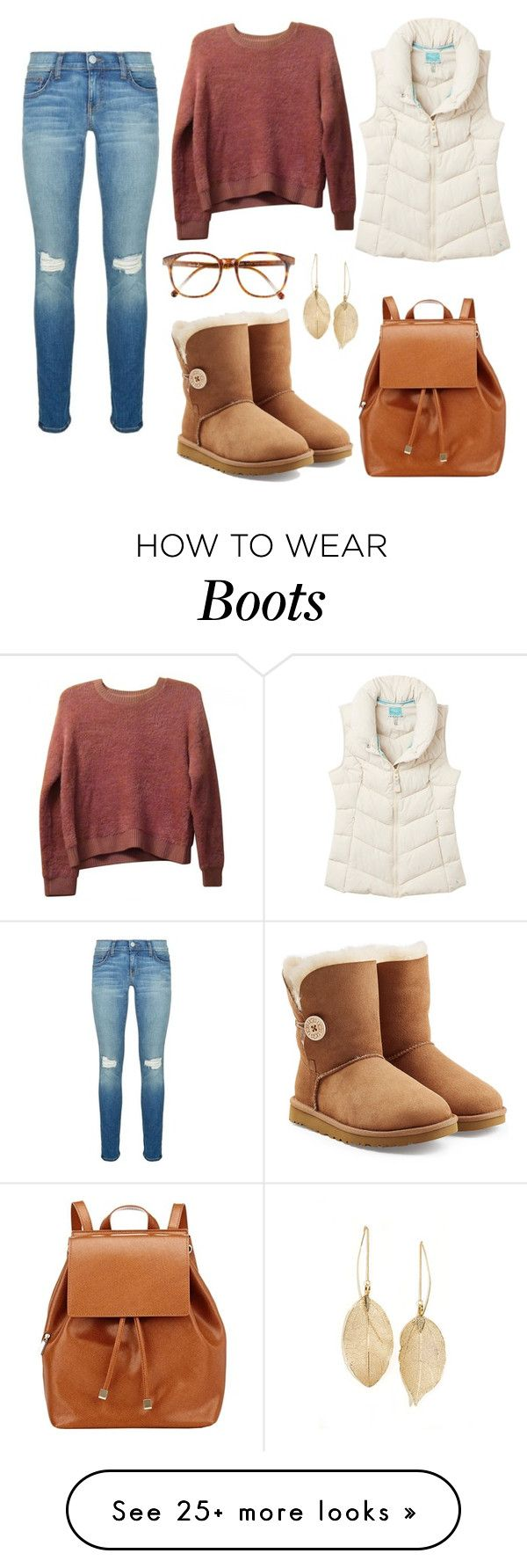 """ugg boots"" by shopaholic02 on Polyvore featuring Rebecca Minkoff, Barneys New York, UGG Australia, Steven Alan, Joules, Topshop and Lulu*s"