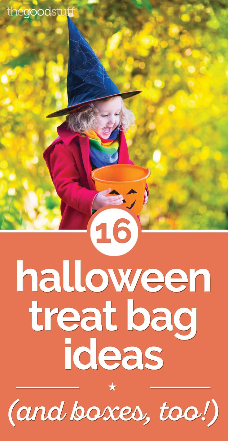 16 Halloween Treat Bag Ideas [and Boxes, Too!] - thegoodstuff