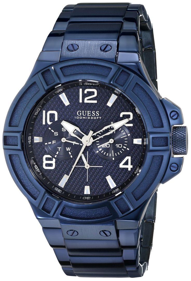 Guess mens blue watch  - Dec. 2012