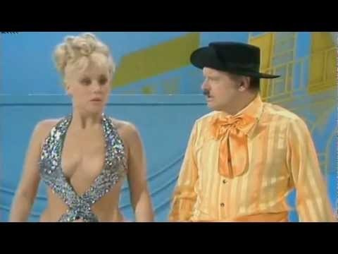 Diana Darvey featuring Benny Hill and Jackie Wright from The Benny Hill Show, 1977. He was hilarious. ... JamesAZiegler.com