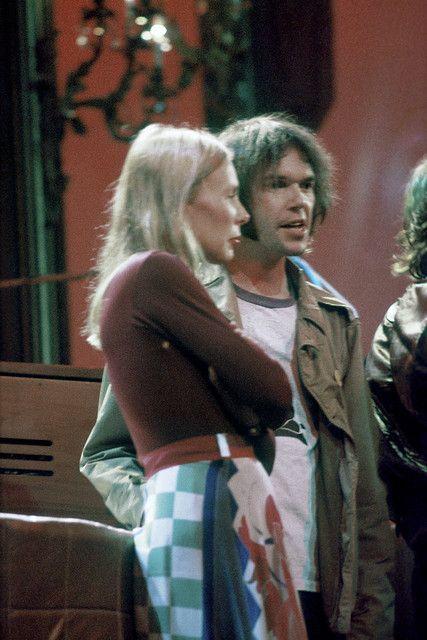 Last Waltz Joni Mitchell and Neil Young