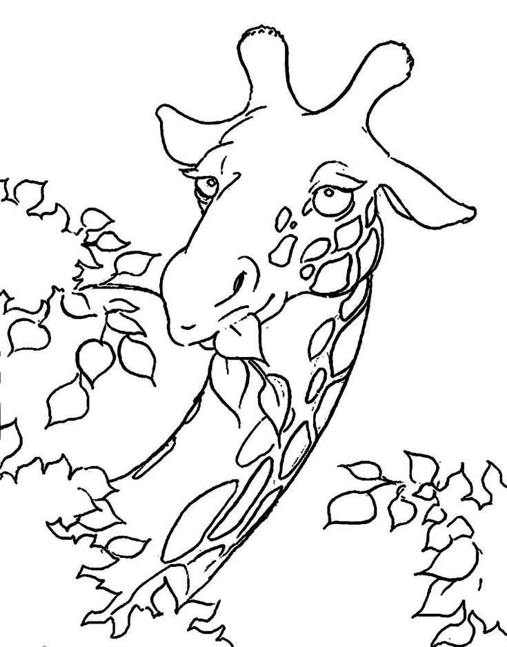 Download Giraffe And Elephant Coloring Pages Online Giraffes MosaicsMosaicGiraffe