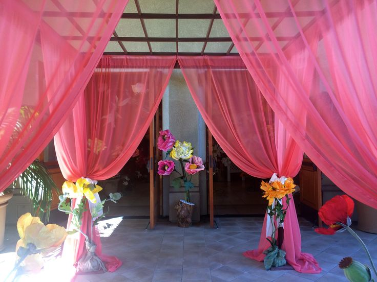 on pinterest fabric canopy stage design and backyard canopy