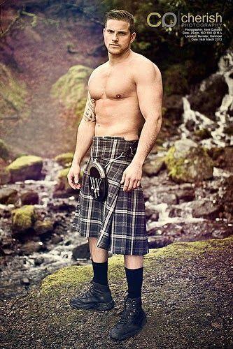Hot men in kilts